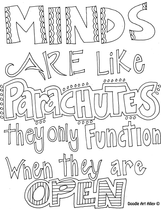 Famous Quotes Coloring Pages Quotesgram Coloring Pages With Quotes